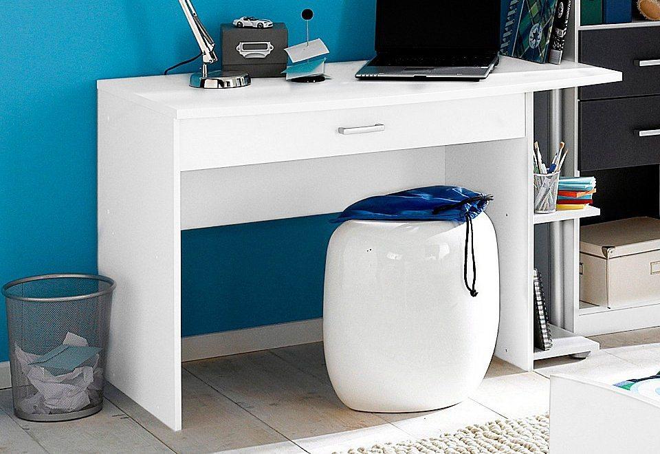 rauch Schreibtisch in weiß unifarben