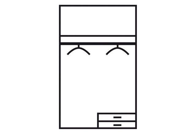 Komplettzimmer - rauch BLUE Jugendzimmer Set »Point«, (Set, 3 tlg)  - Onlineshop OTTO