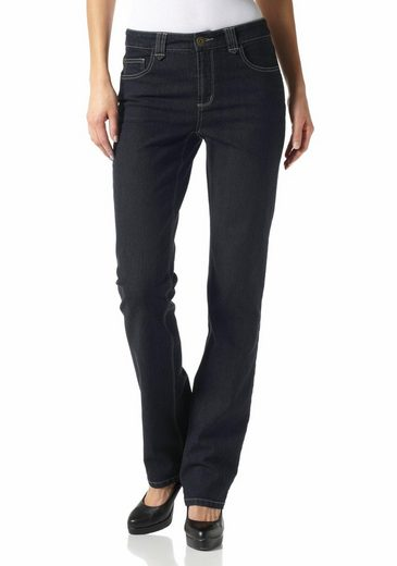 Arizona Gerade Jeans Shaping Nathalie, High Waist