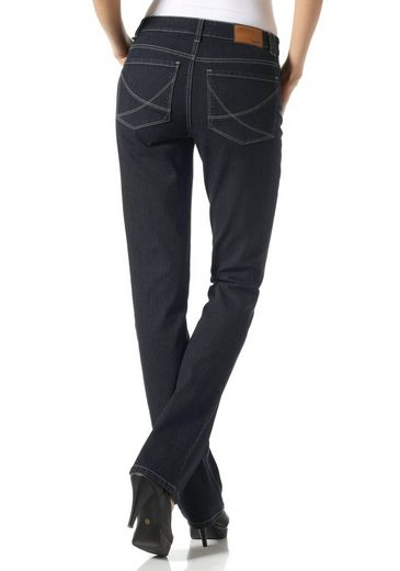Arizona Gerade Jeans Shaping Nathalie, High Waist