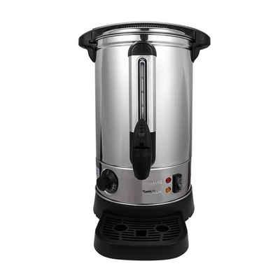 Einfeben Heißgetränke- und Glühweinautomat 8L Glühweinkocher aus Edelstahl, Temperatureinstellung 30-110 Grad Heißwasserspender