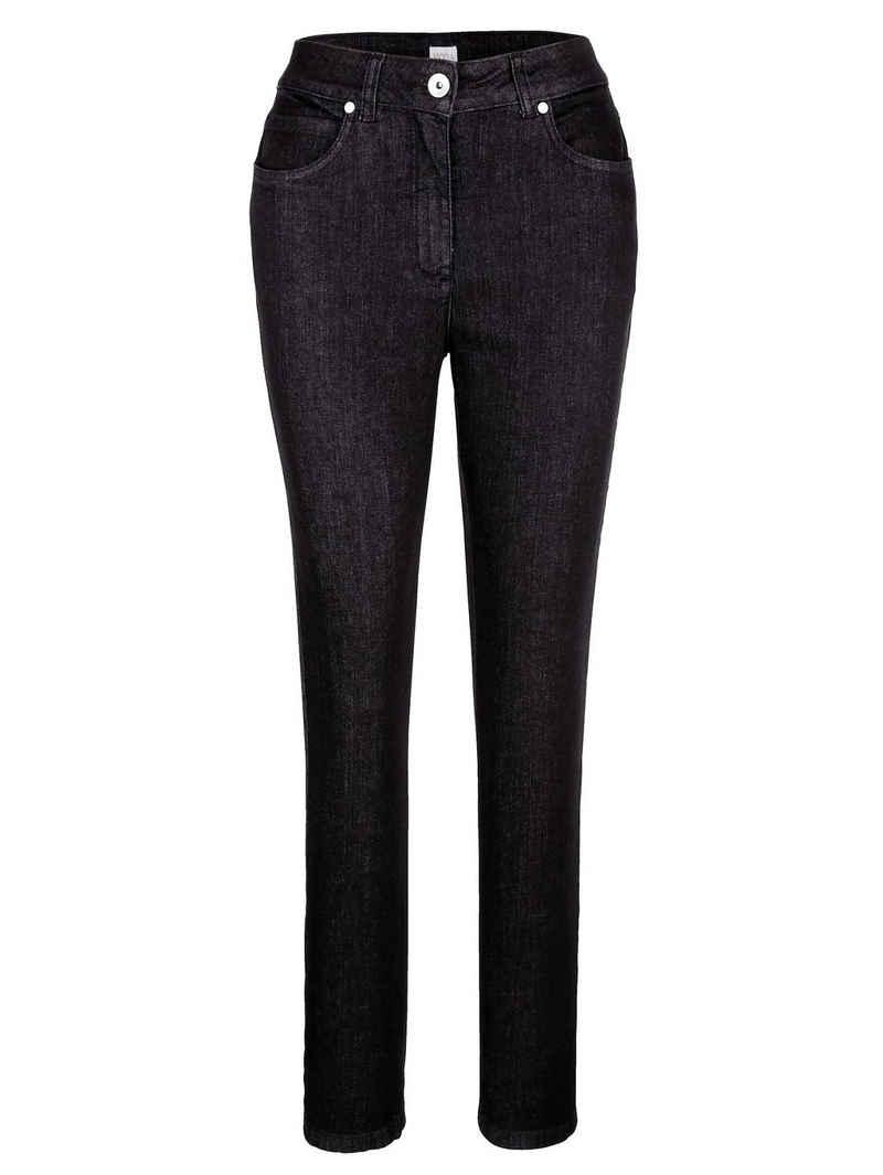 Mona 5-Pocket-Jeans in komfortabler Querstretch-Qualität