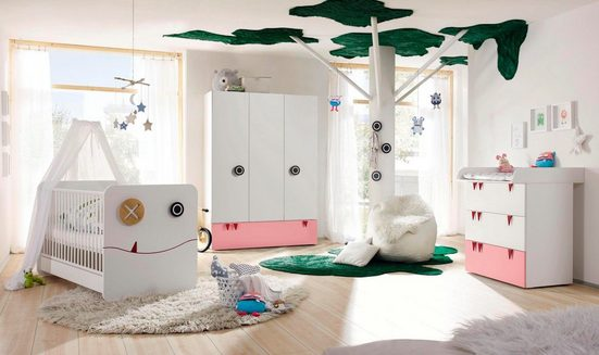 now! by hülsta Babyzimmer-Komplettset »now! minimo«, (Set, 5-St)