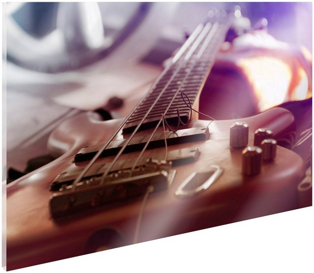 Art & Pleasure Acrylglasbild »Bass guitar«| Bass guitar | Dekoration > Bilder und Rahmen > Bilder | Art & Pleasure