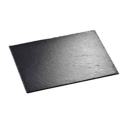 MALACASA Servierplatte »Nature.Slate«, Naturstein, (Set, 1-tlg), Schieferplatte aus Naturstein