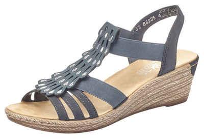 Rieker Sandalette mit Gummizüge, zum Schlupfen
