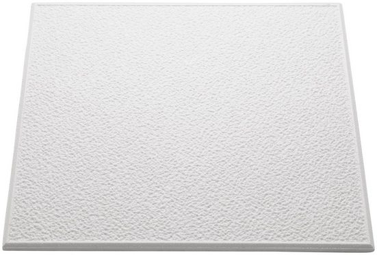 Decoflair Deckenplatten »Deckenplatte T101«, (Set, 80-tlg) in Putzoptik