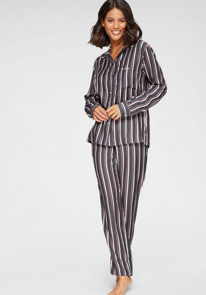 karierte Herren Schlafhose von Marc O`Polo Schlafanzughose Pyjamahose Baumwolle