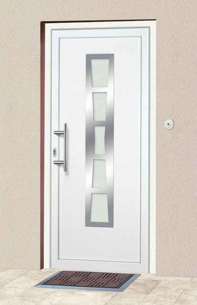 KM Zaun Haustür »K640«, nach Wunschmaß, Anschlag rechts oder links, mit Griffgarnitur