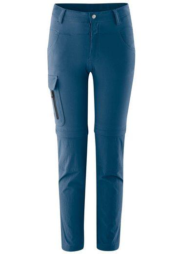 Maier Sports Funktionshose »Lucagrow Zip« Elastische, mitwachsende Zipp-off-Hose für Jungs