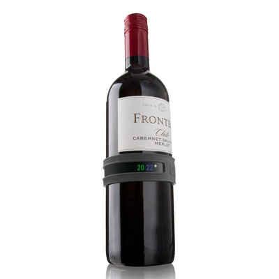 VACUVIN Weinthermometer »Schnapp-Weinthermometer«, für alle Flaschengrößen