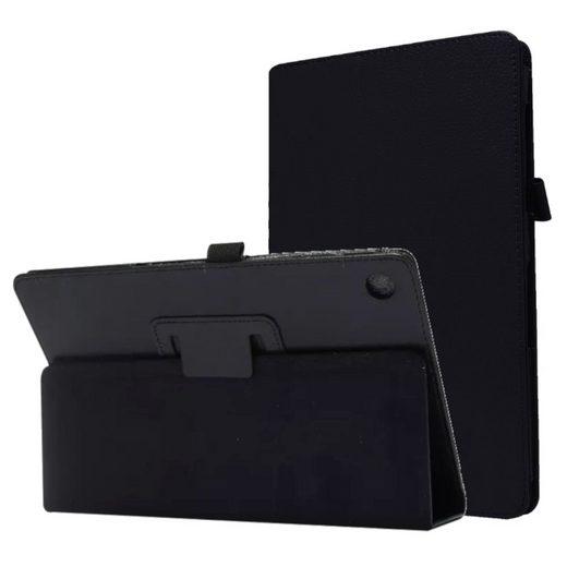 Wigento Tablet-Hülle »Aufstellbare Kunst-Leder Tasche für Lenovo Tab E10 TB-X104F 10.1 Etuis Hülle Cover Schutz Case Zubehör«
