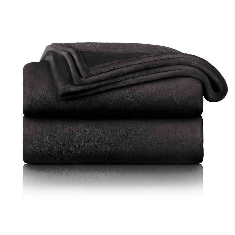 Wohndecke »Flauschige Kuscheldecke – hochwertige weiche Fleecedecke als Sofaüberwurf, Tagesdecke oder Wohnzimmerdecke«, Blumtal