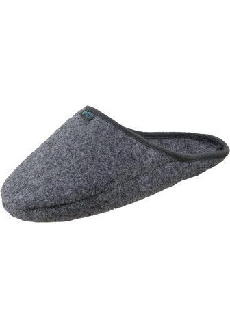 »2010« Pantolette Überschuh Filz grau