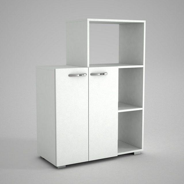 Schränke und Regale - moebel17 Mehrzweckregal »Mehrzweckschrank Küchenschrank Pars Weiß«  - Onlineshop OTTO
