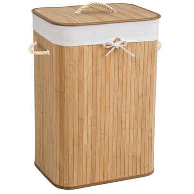tectake Wäschekorb »Wäschekorb mit Wäschesack eckig«