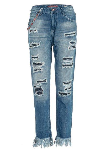 Hosen - Cipo Baxx Bequeme Jeans mit besonderem Cut Out Look in Slim Fİt ›  - Onlineshop OTTO