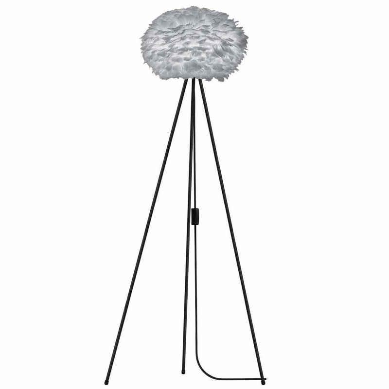 Umage Stehlampe »Umage / VITA Stehleuchte Eos light grey inkl. Tripod schwarz D 45 cm Tripod H 109 cm Lampe«