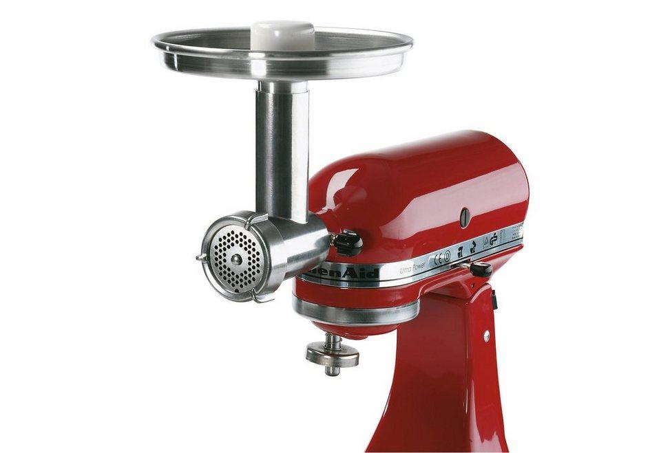 Jupiter Universal Fleischwolf für Küchenmaschinen 476100 KitchenAid in silberfarben