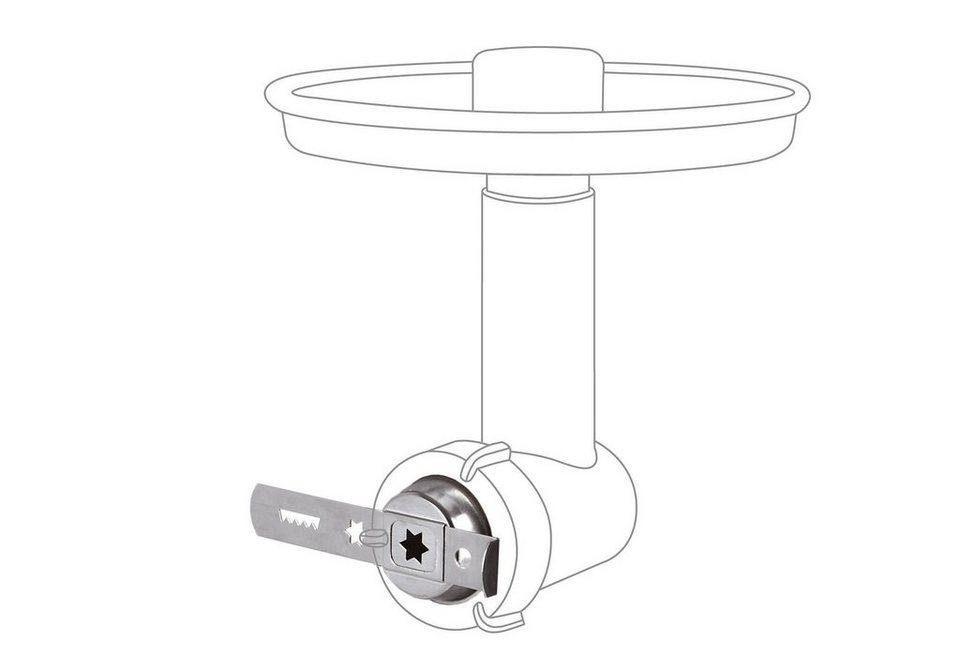 Jupiter Vorsatz für Systemantrieb Spritzgebäckvorsatz 230006 in silber