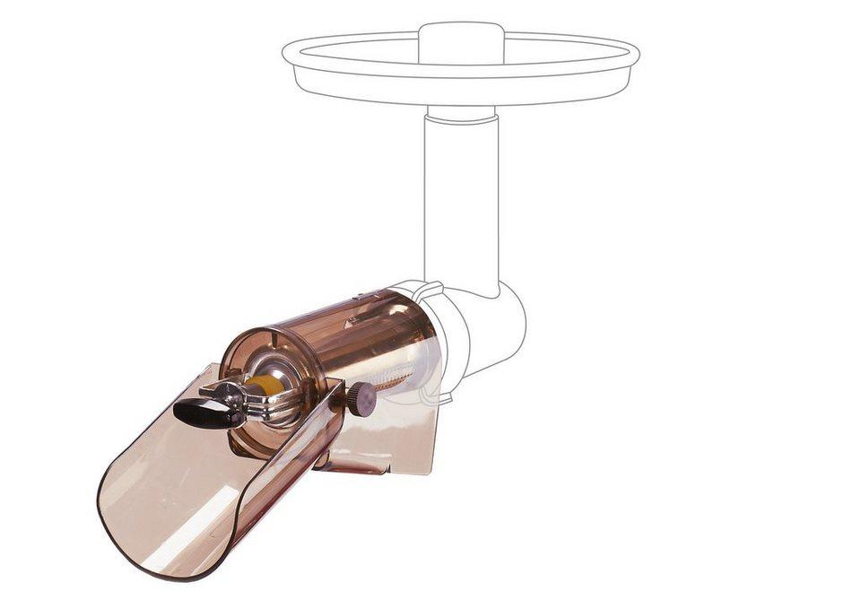 JupiterVorsatz für Systemantrieb Fruchtpressvorsatz 260005 in transparent