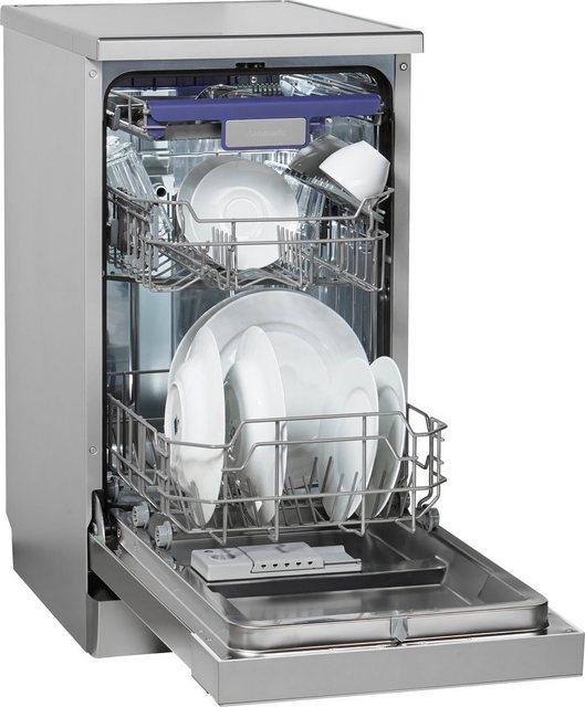 Küchengroßgeräte - Hanseatic Standgeschirrspüler, HG4585D10J7636EI, 9 l, 10 Maßgedecke  - Onlineshop OTTO
