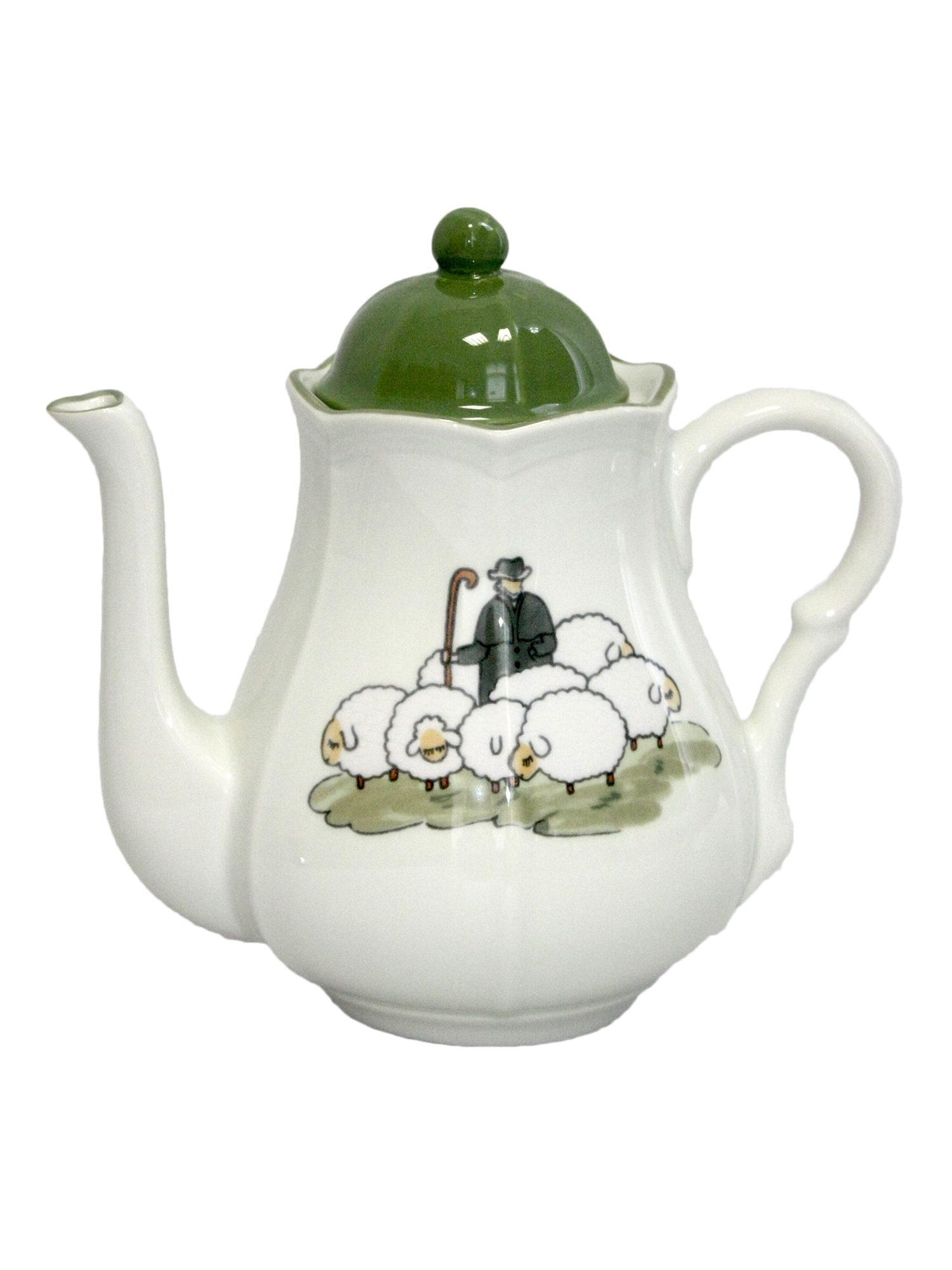 Zeller Keramik Kaffeekanne »Schäfchen«
