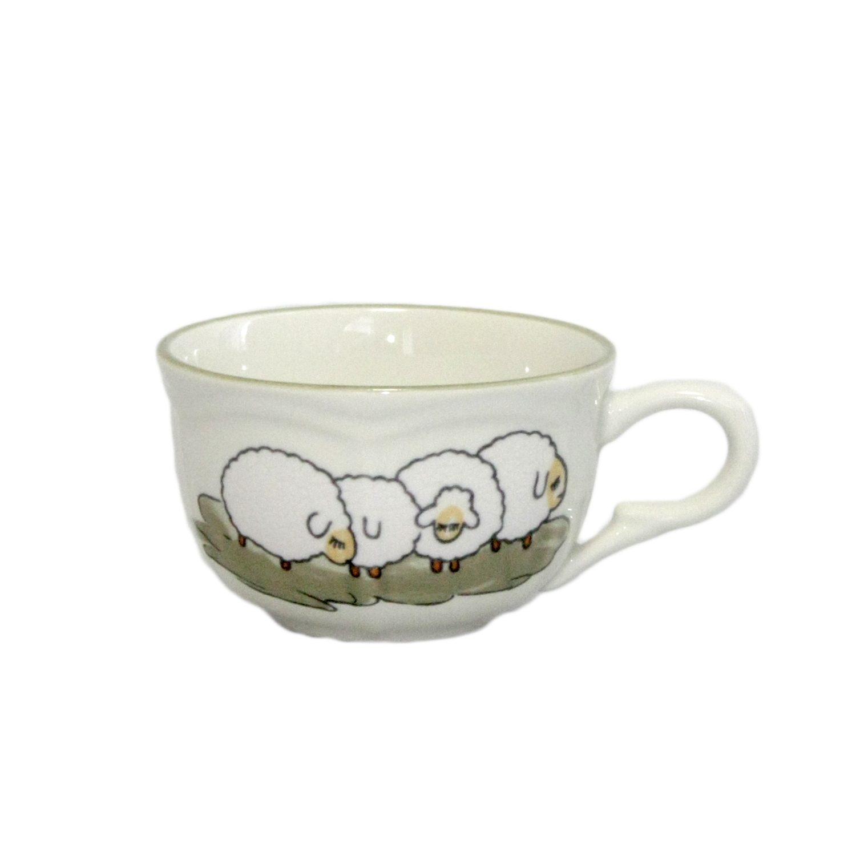 Zeller Keramik Obertasse (Schale) »Schäfchen«