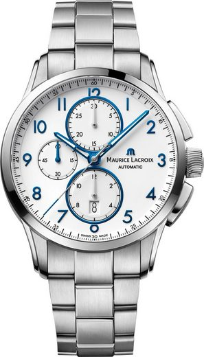 MAURICE LACROIX Chronograph »Pontos Chronograph Date, PT6388-SS002-120-1«