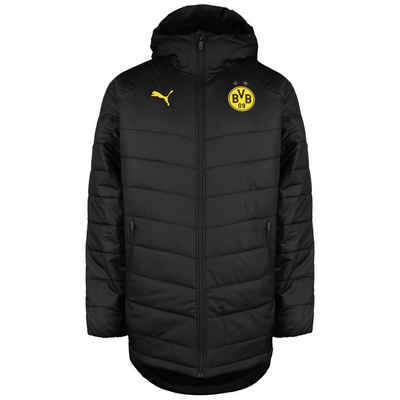 PUMA Winterjacke »Borussia Dortmund Bench«
