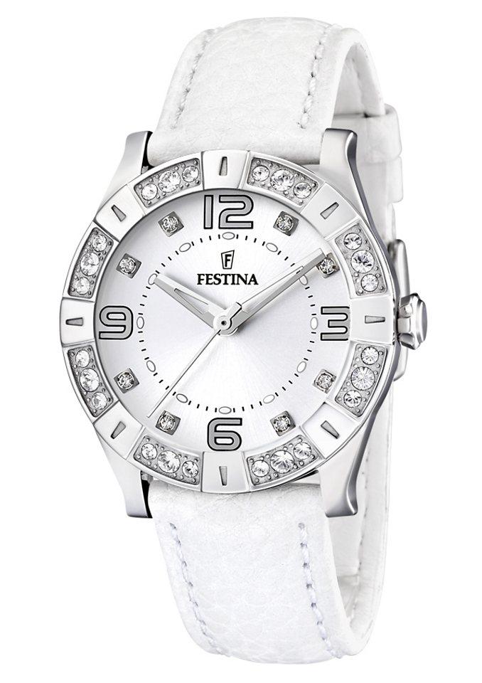Festina Quarzuhr »F16537/1« in weiß