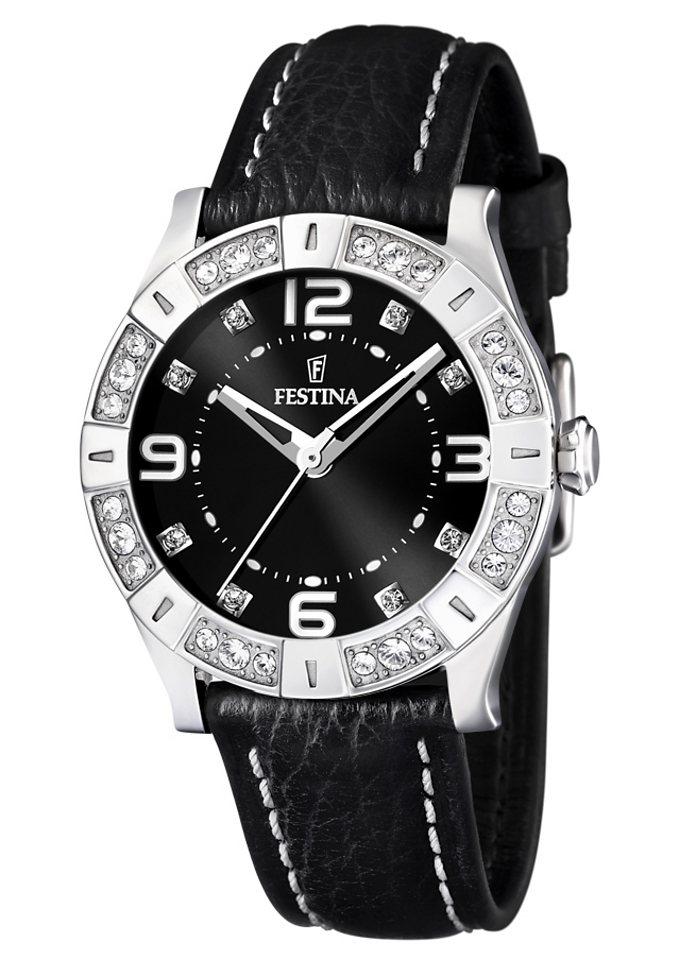 "Festina, Armbanduhr, ""F16537/2"" in schwarz"