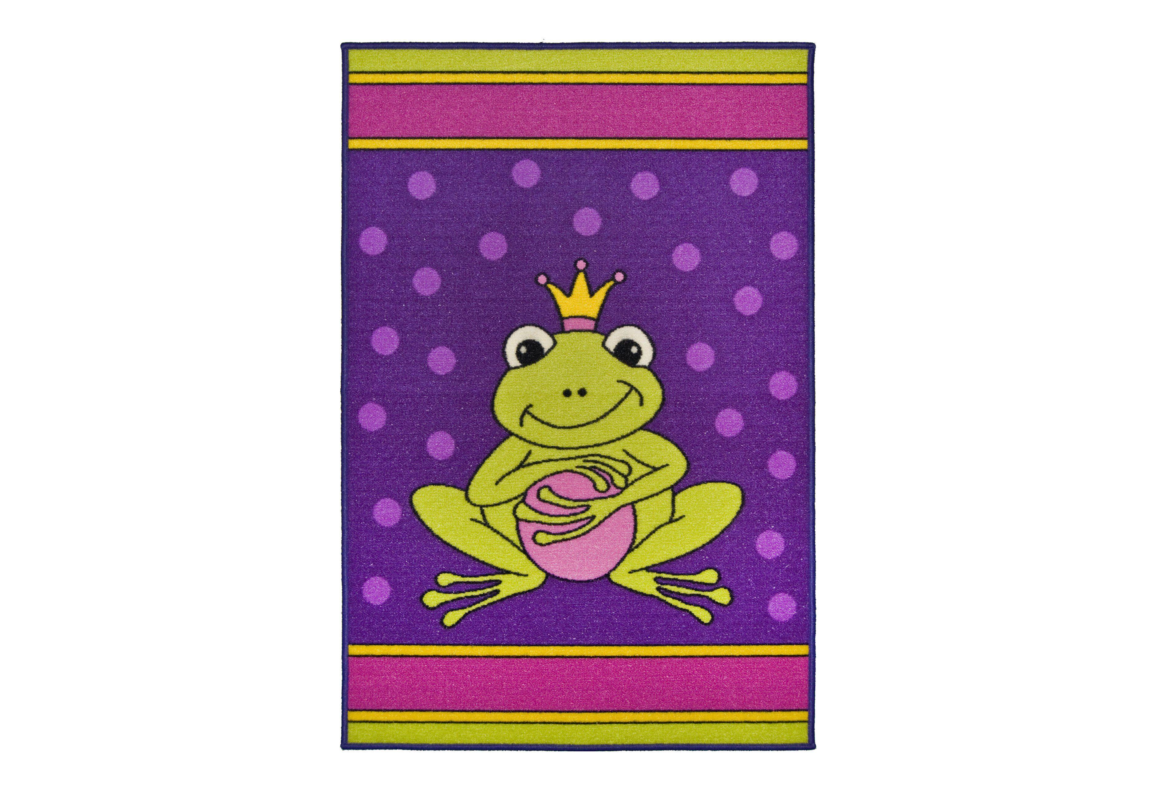 Kinder-Teppich, Andiamo, »Frosch«, getuftet