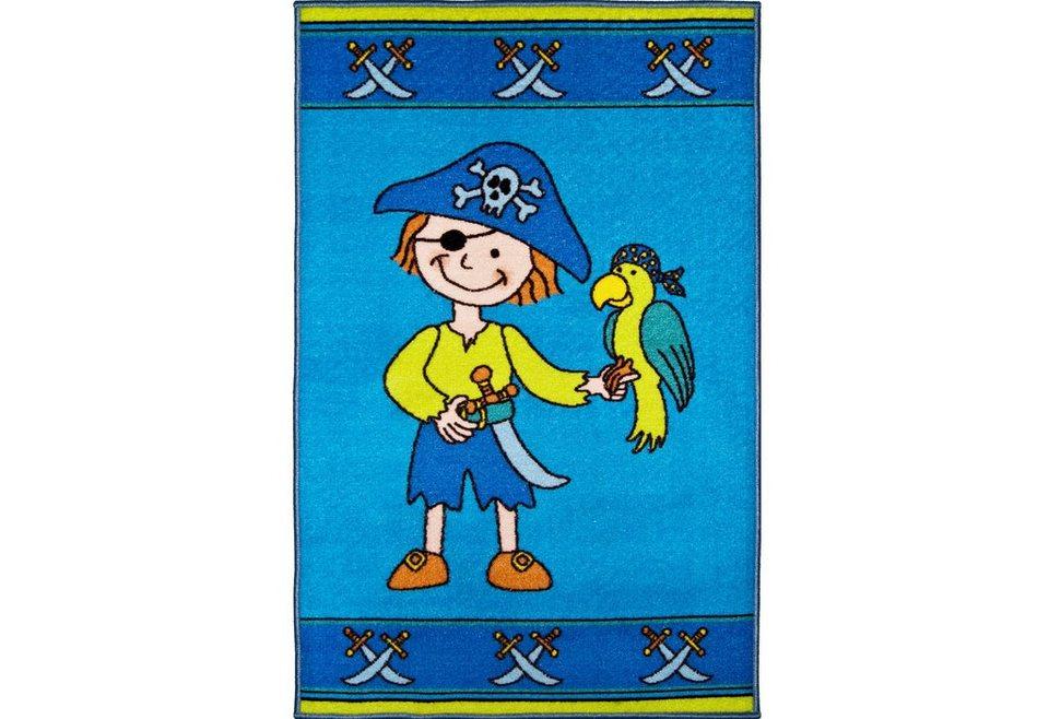 Kinder-Teppich, Andiamo, »Pirat«, getuftet in bunt
