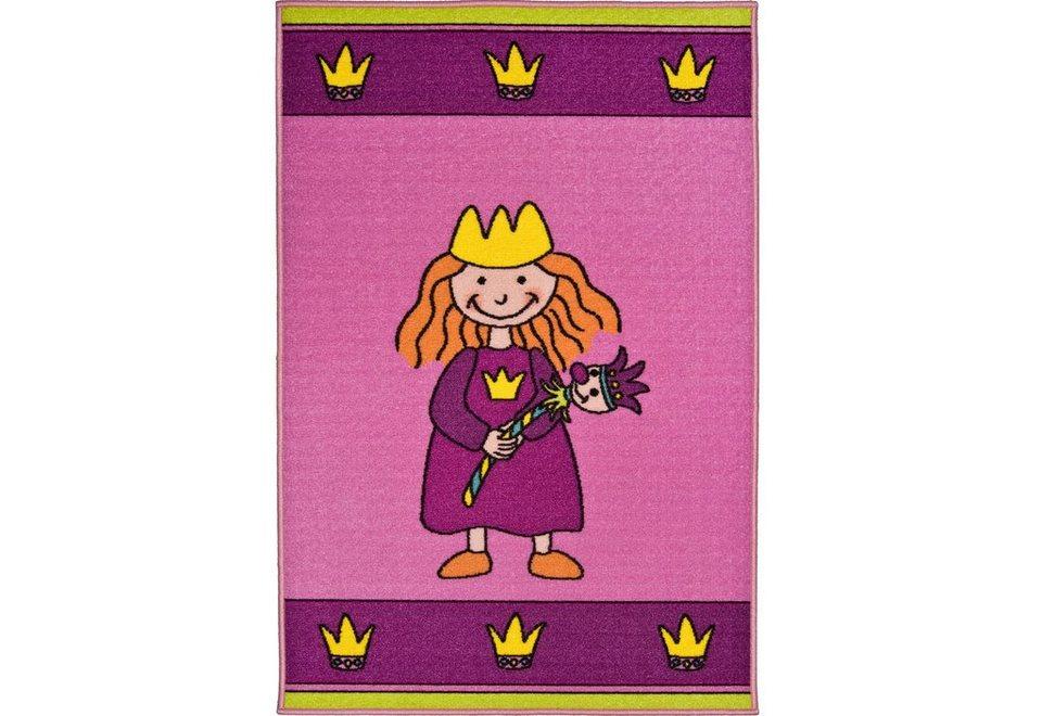 Kinder-Teppich, Andiamo, »Prinzessin«, getuftet in bunt