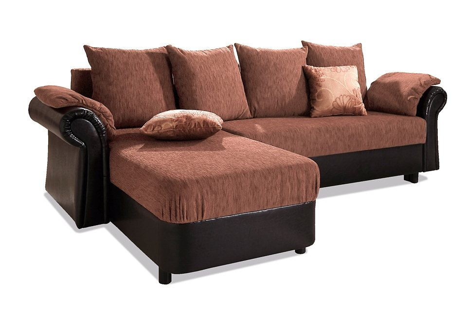Ecksofa kolonialstil bettfunktion  Home affaire Polsterecke »Carmen«, mit Bettfunktion, wahlweise mit ...