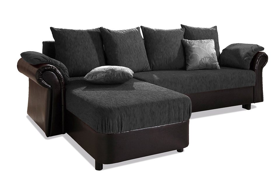 home affaire polsterecke carmen mit bettfunktion. Black Bedroom Furniture Sets. Home Design Ideas