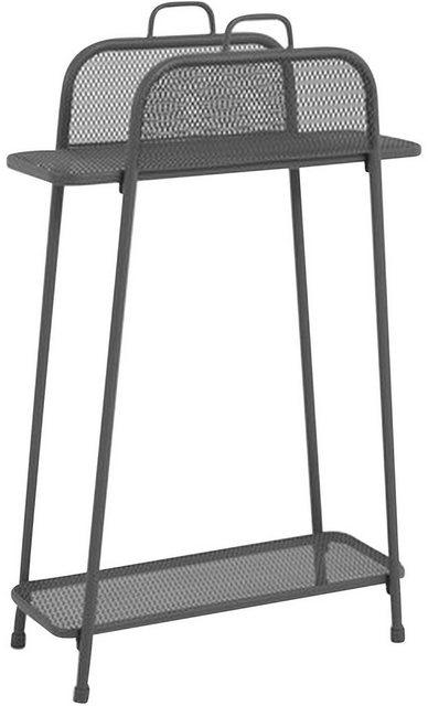 Küchenregale - Garden Pleasure Regal »Shelfo«, Metall, 65,5x27x105,5 cm, schwarz  - Onlineshop OTTO