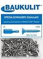 Baukulit VOX Schraube »Edelstahl«, (Packung, 100 St), 3,0 x 16 mm für MOTIVO Wohnraumpaneel, Bild 3