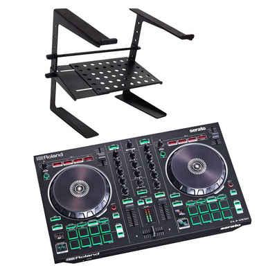 Roland Audio Mischpult »Roland DJ-202 USB-DJ-Controller + Laptopständer«
