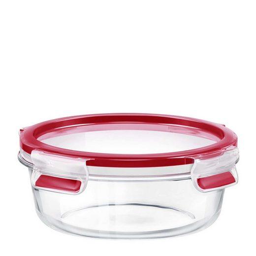 Emsa Frischhaltedose »Glas Frischhaltedose rund Clip Close Glas«, Glas, (1-tlg)