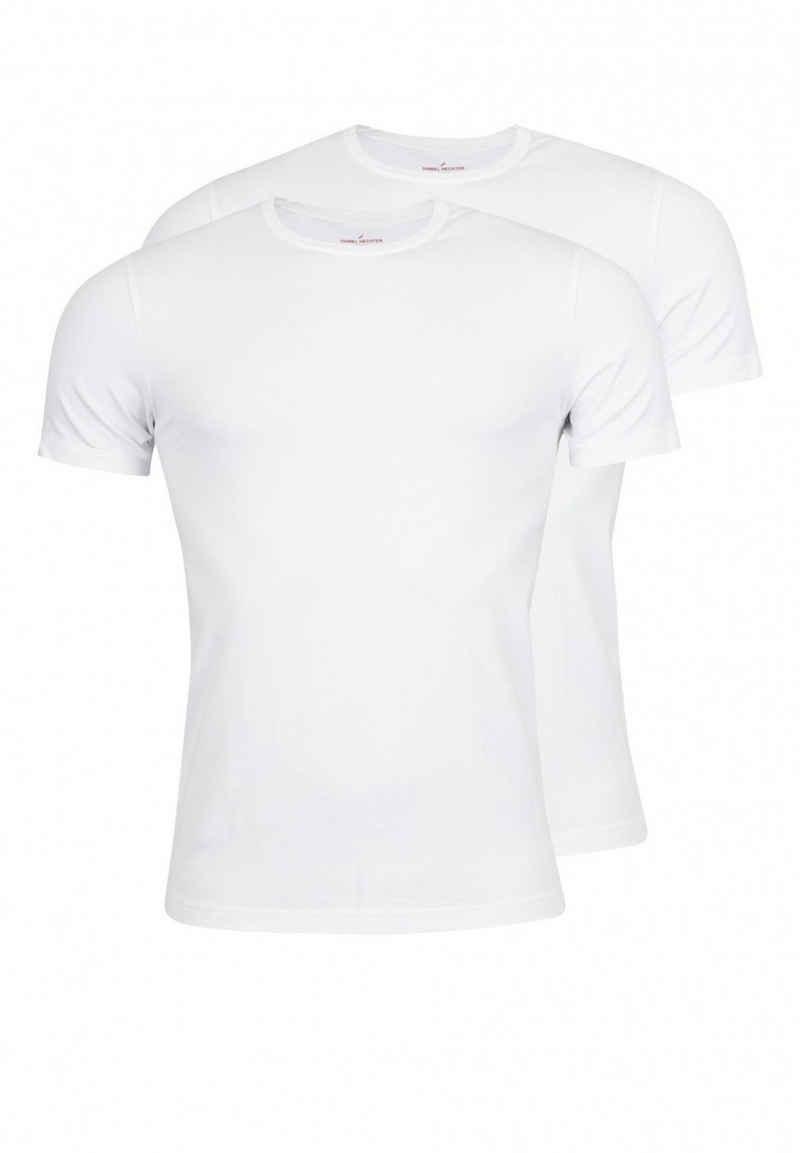Daniel Hechter T-Shirt »Basic Rundhals« (2er-Pack)