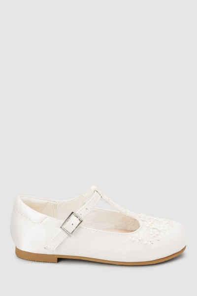 Next »Schuhe mit T-Steg und Zierblümchen« T-Strap-Sandale (1-tlg)