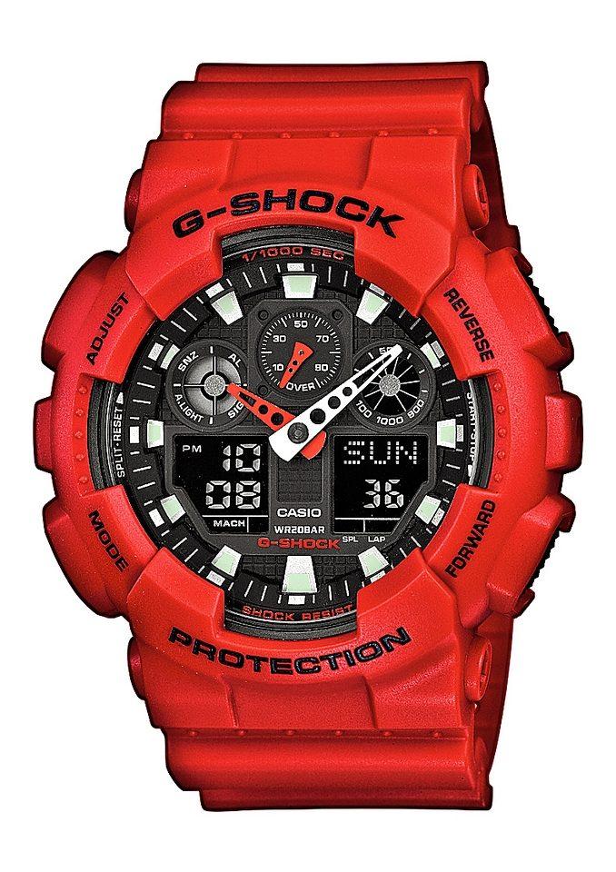 Casio G-Shock Chronograph »GA-100B-4AER«
