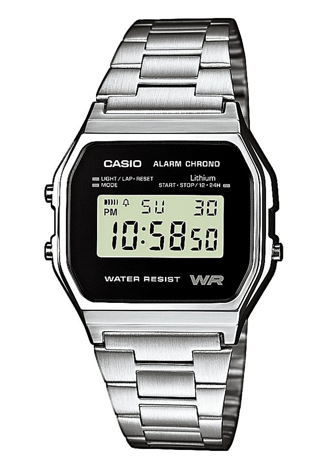 Casio Collection Chronograph »A158WEA-1EF«