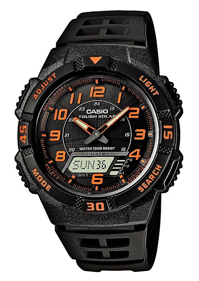 Casio Collection Chronograph »AQ-S800W-1B2VEF« in schwarz