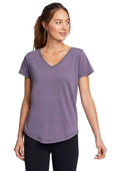 Eddie Bauer T-Shirt Boundless T-Shirt mit V-Ausschnitt
