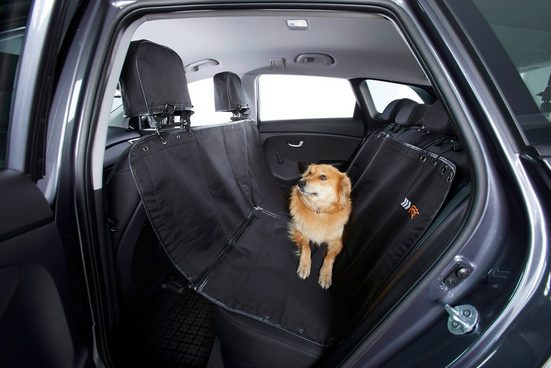Hunde-Decke »für Autorücksitze«, schwarz, BxL: 127x148 cm