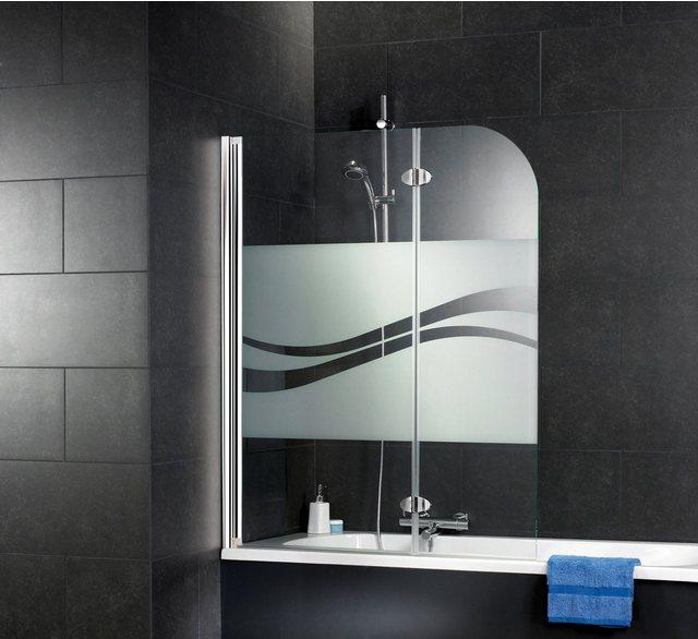 Badewannen und Whirlpools - SCHULTE Badewannenfaltwand »Komfort«, 2 teilig  - Onlineshop OTTO