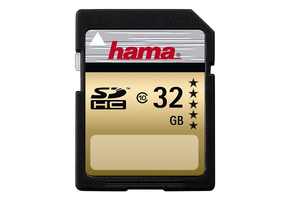 hama speicherkarte sdhc 32gb class 10 highspeed memory. Black Bedroom Furniture Sets. Home Design Ideas